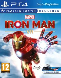 Marvels Iron Man VR ps4 redeem code