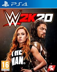 WWE 2K20 PS4 redeem code
