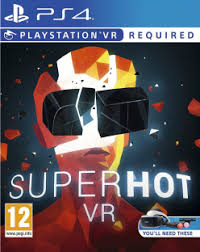 SUPERHOT VR ps4 redeem code