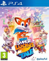 New Super Lucky's Tale ps4 free redeem code