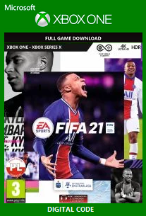 FIFA 21 Xbox One Redeem Code Free Download