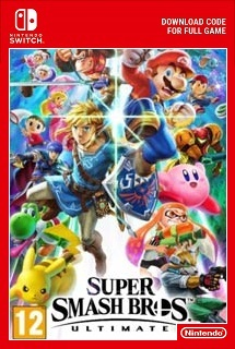 Super Smash Bros Ultimate Switch redeem code free download