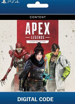 Apex Legends Champion Edition PS4 codes free download