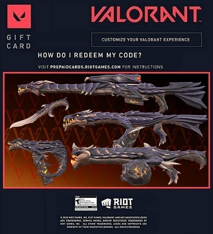 Free Valorant Elderflame collection redeem code skins