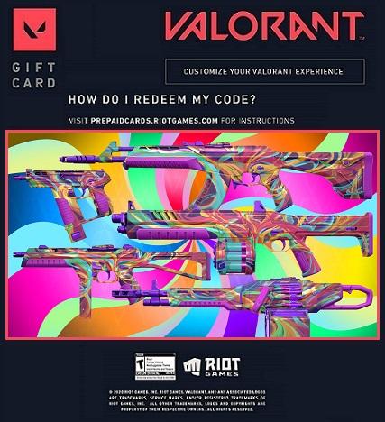Free Valorant Sensation collection redeem code skins