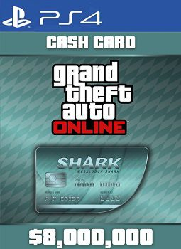 GTA 5 Shark Cash Card PS4 codes free download