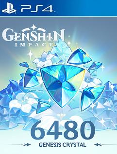 Genshin Impact Free Genesis Crystals Codes PS4